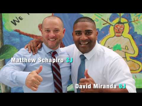 Jersey City School Board candidates Matthew Schapiro and Dav