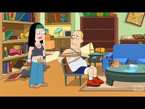 American Dad - Hayley And Klaus Become Kidnaper