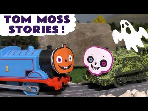 Thomas and Friends Spooky Pranks with Tom Moss The Prank Engine - Toy Train Stories for kids TT4U