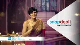 Snapdeal Diwali Bumper Sale: Mandira Bedi Thumbnail