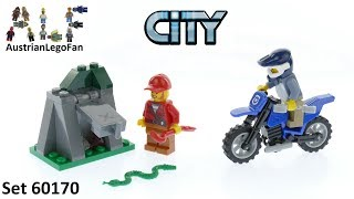 Lego City 60170 Off-Road Chase - Lego Speed Build Review