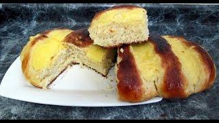 Receta: Pan Dulce Con Crema Pastelera  - Silvana Cocina Y Manualidades