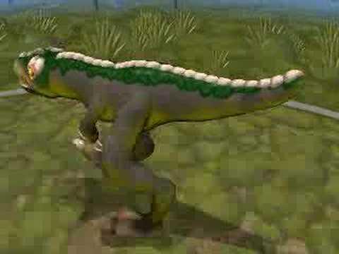 Tyrannosaurus Rex T-Rex Spore Creator Video