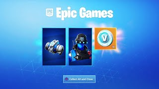 Le nouveau GRATUIT CELEBRATION PACK 5 à Fortnite...
