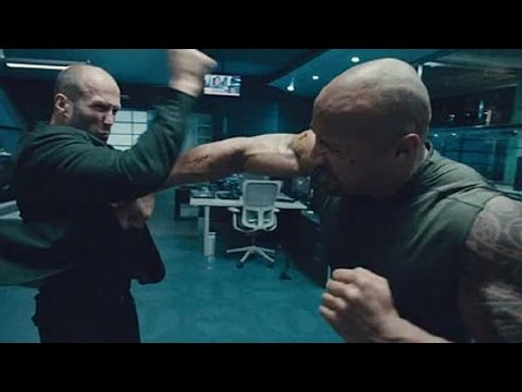[தமிழ்] Furious 7(Fast & Furious 7) Rock And Jason Fight Scene In Tamil | Super Scene | HD 720p