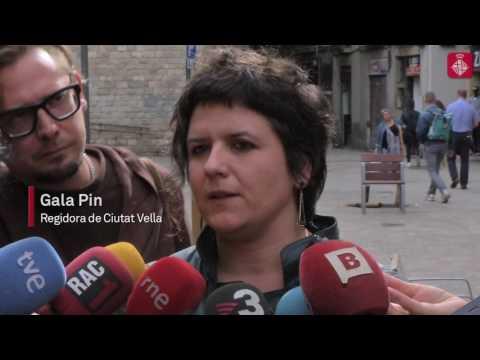 Gala Pin, sobre la suspensió de llicències a Ciutat Vella