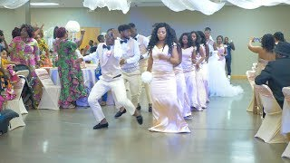 Best Congolese Wedding Entrance Dance