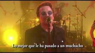 U2 - You're the best thing about me (subtitulada en español)