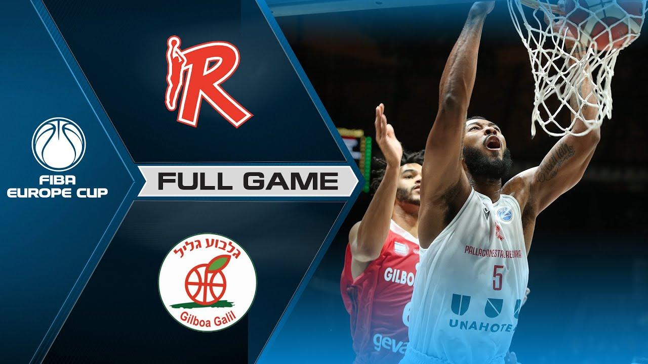 Unahotels Reggio Emilia v Hapoel Gilboa Galil | Full Game - FIBA Europe Cup 2021-22