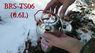Trying the BRS Stainless Steel Kettle -Teapot