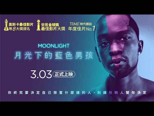 3.3《月光下的藍色男孩》官方中文HD預告|時代雜誌2016年度十大佳片Top.1