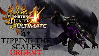 "Monster Hunter 4 Ultimate - 4* Village Urgent ""Tipping the Scales"" (Gore Magala)"