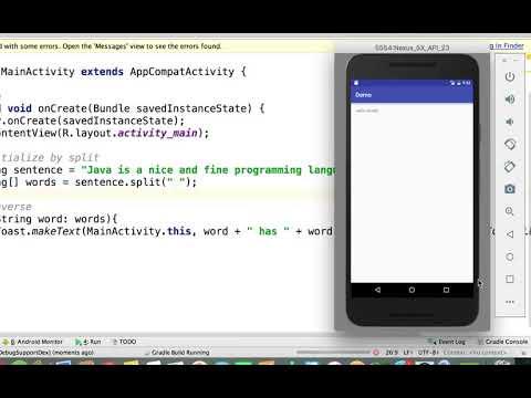 Java - Split A String Into An Array  | Arrays In Java