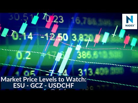 Market Price Levels to Watch: ESU-GCZ-USDCHF on Tuesday's Market Breakdown