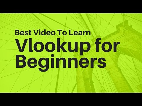 Learn Vlookup Formula For Beginners in Excel