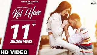 MANINDER BUTTAR : Kol Hove (Official Video) New Punjabi Songs 2021 | Archie | TDOT | Romantic Songs