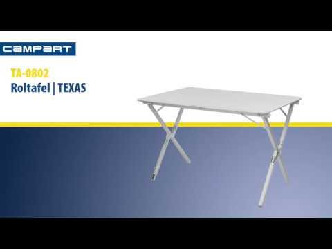 Campart Roltafel Texas.Campart Travel Ta 0802 Roltafel Texas Tristar