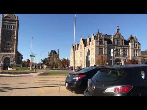 Drive trough Peoria, Illinois