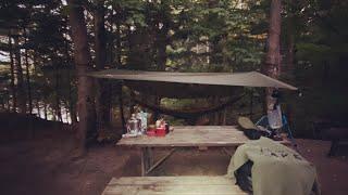 [캐나다 모터사이클] 모토캠핑 해먹에서 자보기. Mot…