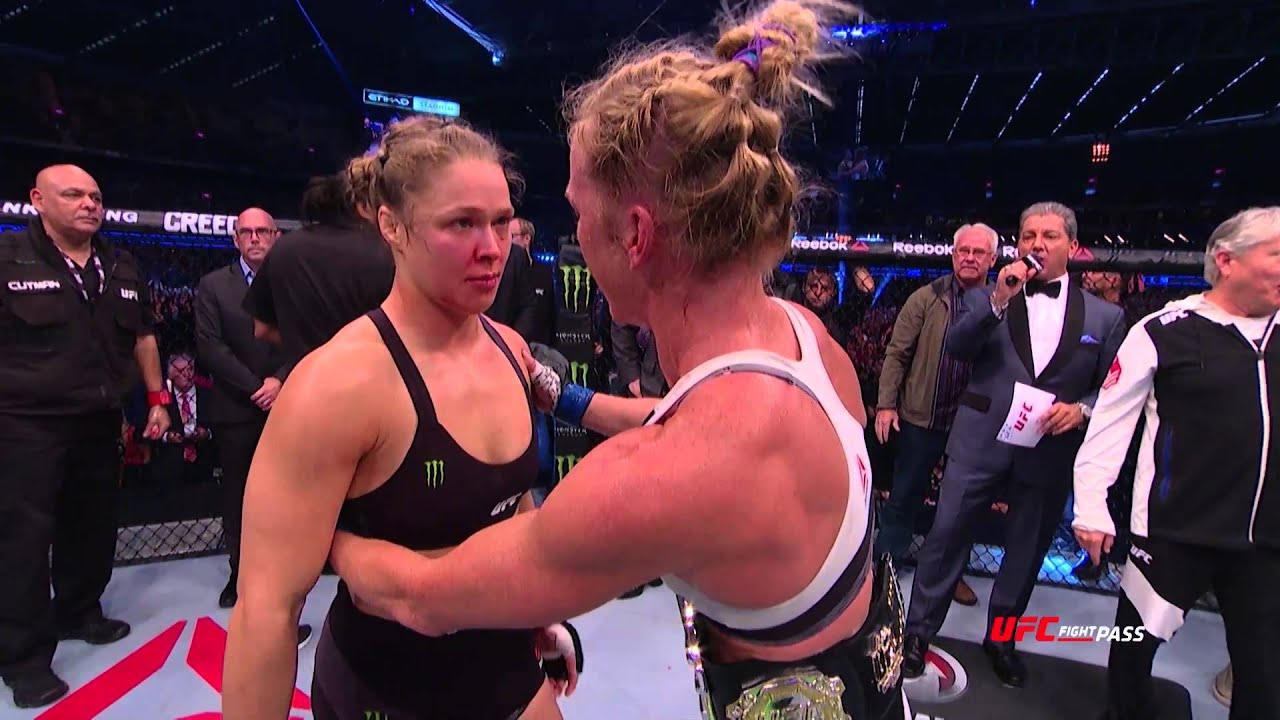 UFC 193: The Thrill and the Ag...