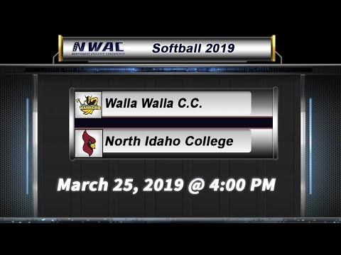 Softball: Walla Walla Community College vs. North Idaho College (Game 2)