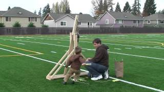 Trebuchet Attempt #2: Success!!