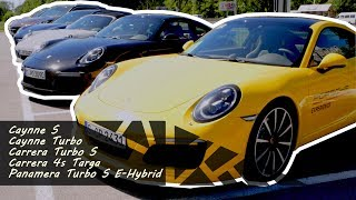 Test-Drive автомобилей Porsche - YouTube