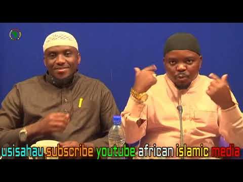 Sheikh Mahamud Haji Mweye Kiti Wa African Islamic Media Mgeni Kutoka marekani Akiwa Nairobi Kenya