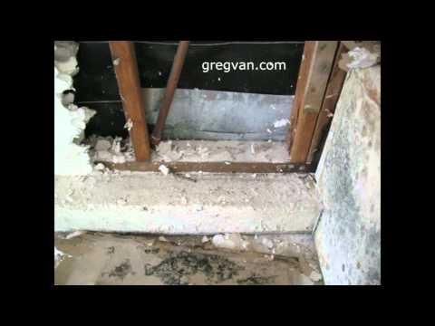 Drywall and Wood Damage from Water Heater Leak-Home Repairs