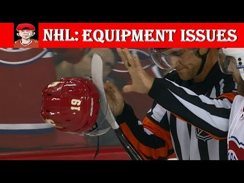 NHL Equipment Issues