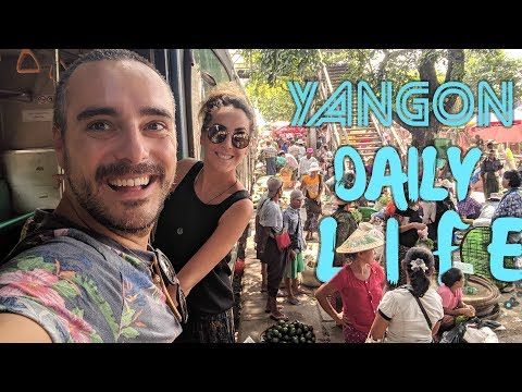 The cheapest and coolest way to visit Yangon !!!