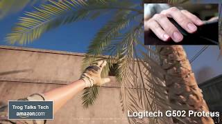 August 2017 Logitech G502 Proteus Review & Gameplay!
