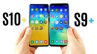 Galaxy S10 Plus vs Galaxy S9 Plus Speed Test!