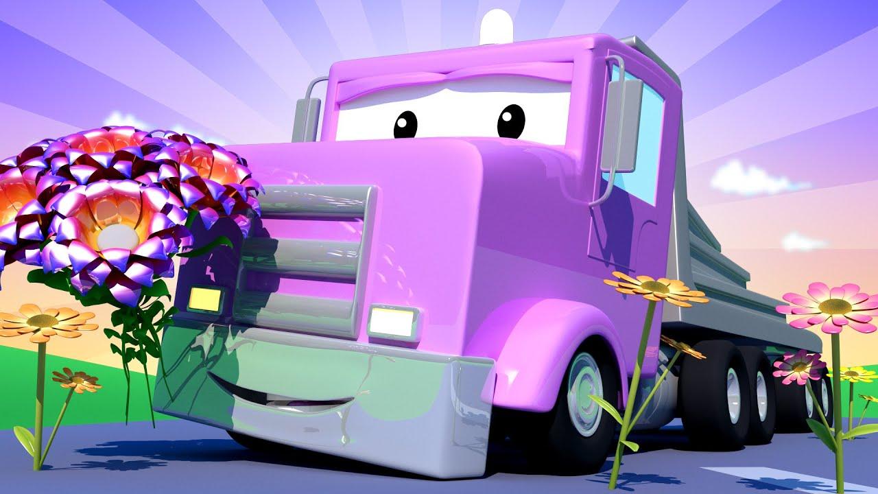 Xe lửa Troy - Ngày của Mẹ : Xe tải sàn Flavy - Thành phố xe