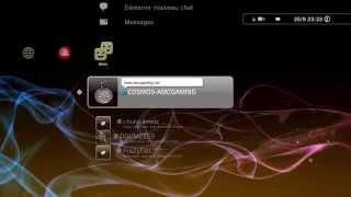 Menu XMB Playstation 3 Rex Rebug 4.70 By Cosmos