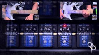 EBS Pedals - Play through - Multicomp, DynaVerb, MultiDrive, MetalDrive, etc