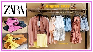 #ZARA NEW IN #August2019 I Ladies New Collection, Sandals and Bags