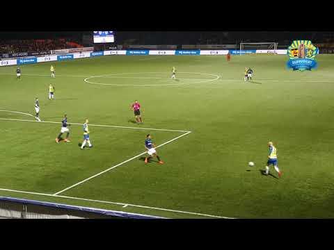 S.C. Cambuur - Fortuna Sittard: 1-0 Sfeer + Goal