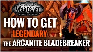 How to get the Arcanite Bladebreaker - Unlock Arms Hidden Skin