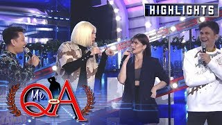 Vice, Vhong, Jhong and Anne brag about their schools | It's Showtime Mr. Q and A