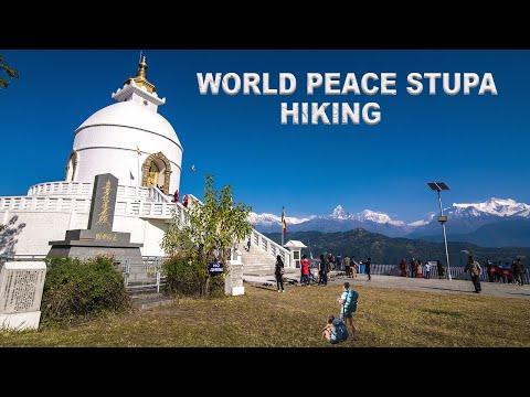 World Peace Stupa Hike in Pokhara