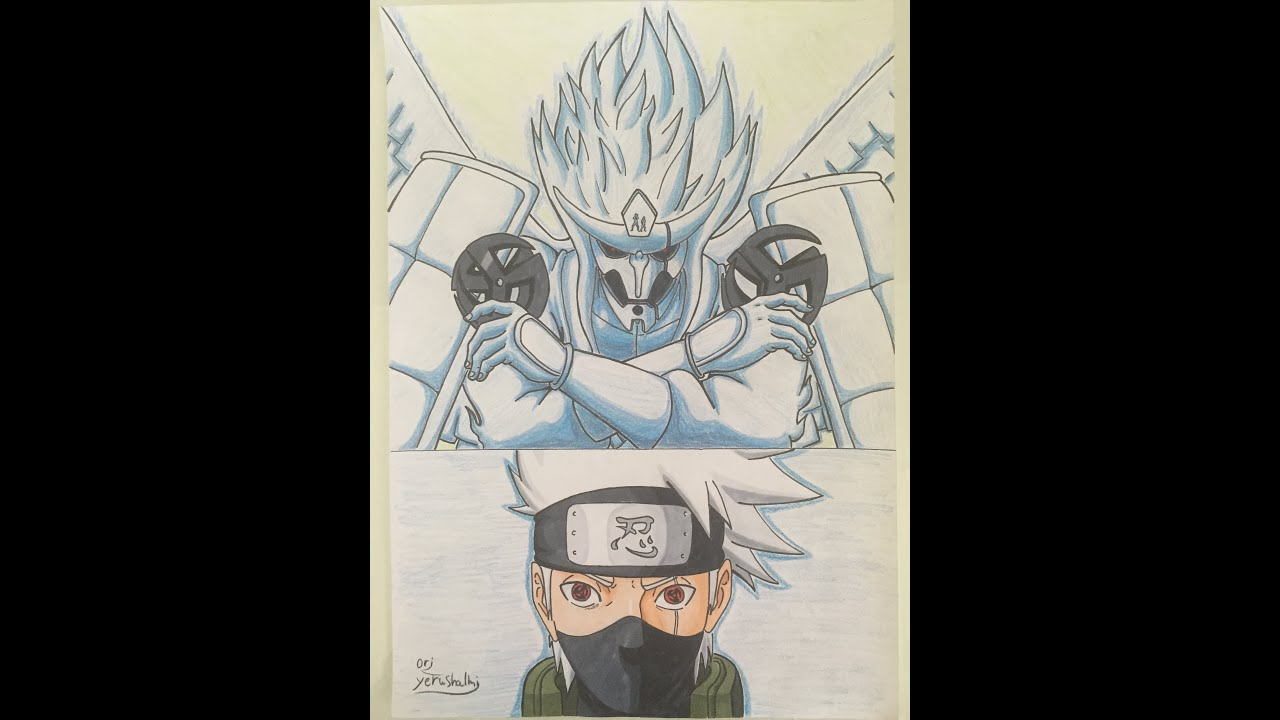 naruto drawing kakashi perfect susanoo