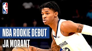 Ja Morant Shines in First NBA Preseason Game | October 6, 2019