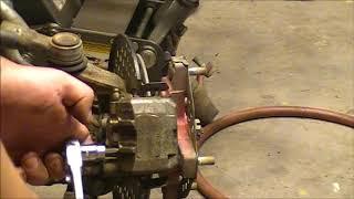 Honda TRX 300 EX Brakes