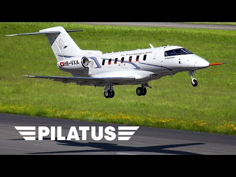 Pilatus Aircraft Ltd - PC-24 Maiden Flight