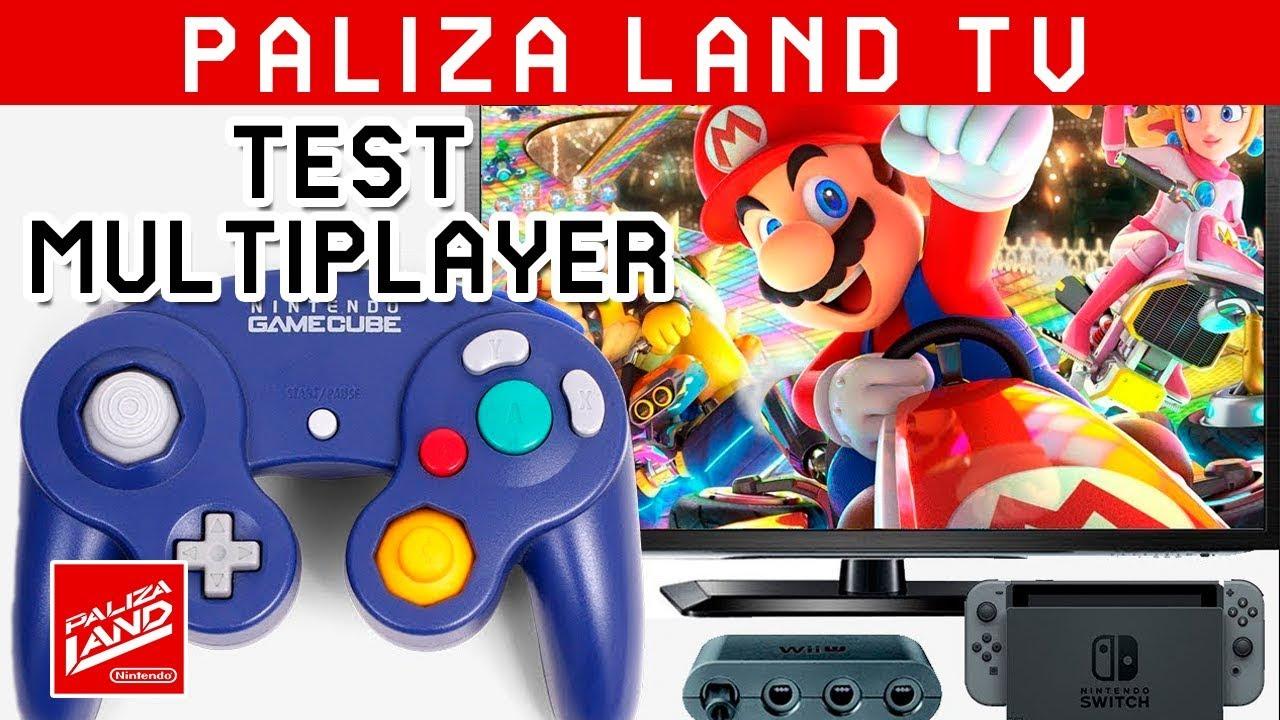 Test Gamecube Controller En Nintendo Switch Mario Kart Multiplayer Mode
