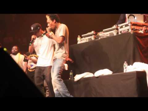 Wiz Khalifa - Nate Dogg Tribute, Wake Up, No Sleep (LIVE)