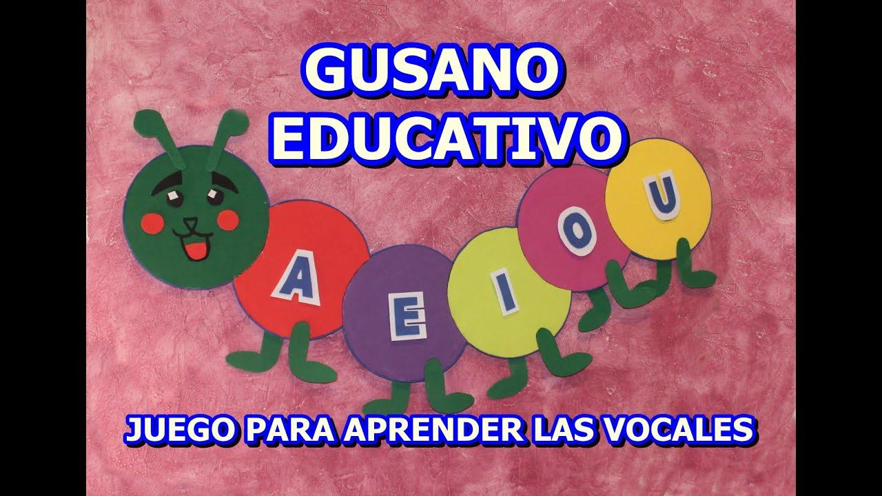 Vuelta Al Cole Divertida Iv Con El Cubo De Actividades: JUGUETE EDUCATIVO CON LAS VOCALES (PARA LA VUELVA AL COLE