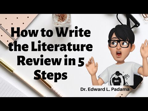 How To Write The Literature Review In 5 Steps (PPT)