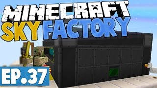 Minecraft Sky Factory 2.5 - BIGGER REACTOR! #37 [Modded Skyblock]